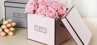 Firmowe kosze upominkowe – flower boxy. Taki prezent ma znaczenie