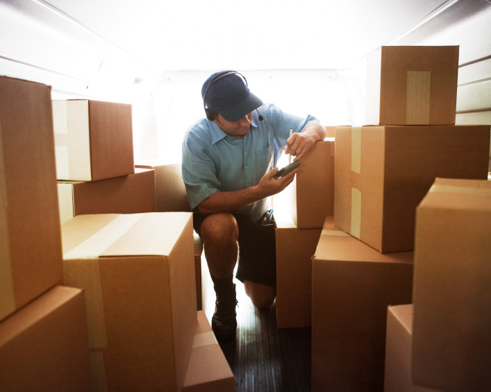 Courier making delivery. [url=http://www.istockphoto.com/file_search.php?action=file&lightboxID=5724685][IMG]http://i212.photobucket.com/albums/cc287/stevecoleccs/WarehouseIndustry.jpg[/IMG][/url]