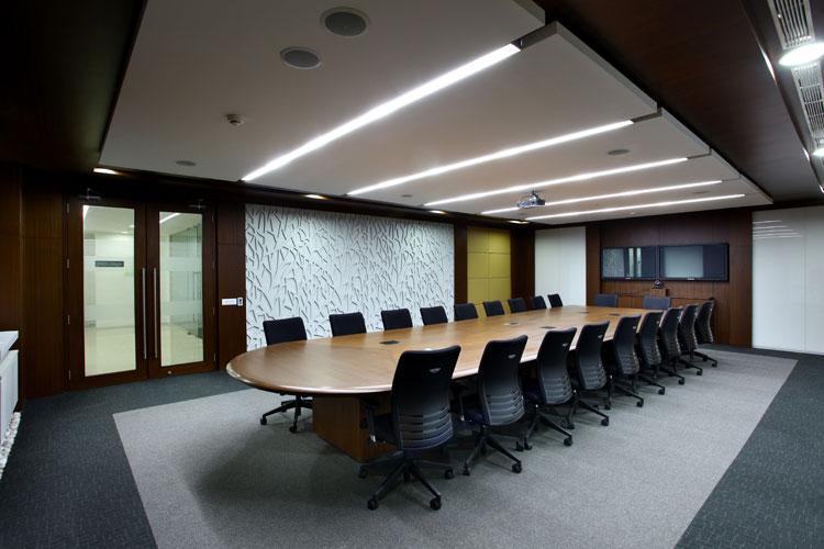 Conference Hall Interior Designing