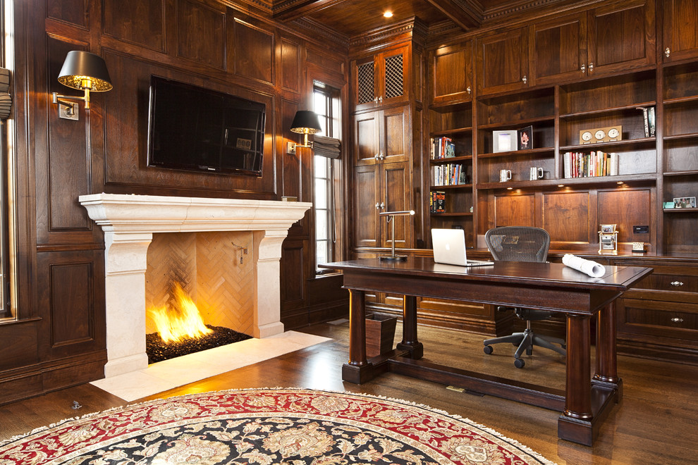 limestone-fireplace-surround-home-office-traditional-with-area-rug-bookcases-carved