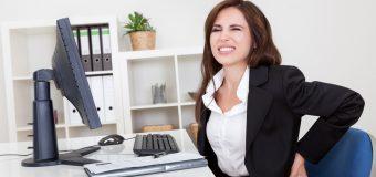 8 godzin przy biurku? Zobacz co możesz dobrego zrobić dla swojego kręgosłupa