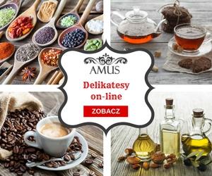 delikatesy internetowe Amus produkty premium