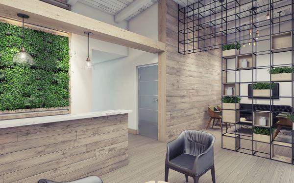 Biophilic design w biurze - Mikomax Smart Office